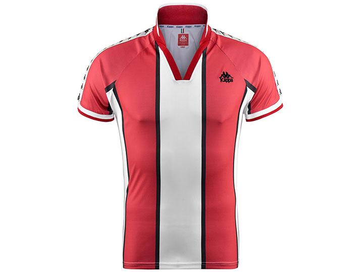 Kappa Shirt Belgrade Rood