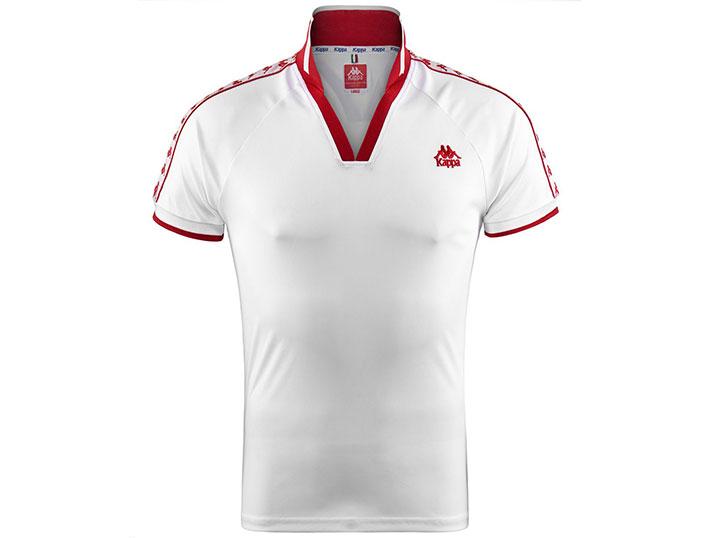 Kappa Shirt Belgrade White