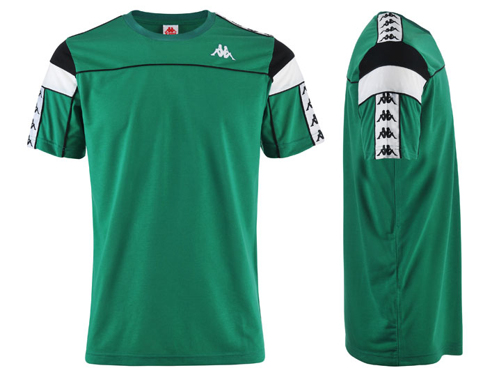Kappa T-shirt 222 Bada Arar Slim Green