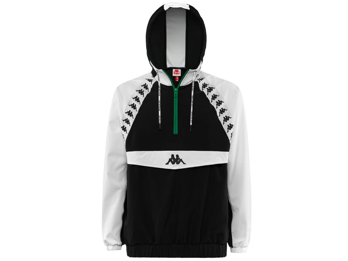 Kappa Jacket Authentic Bakit Black/White