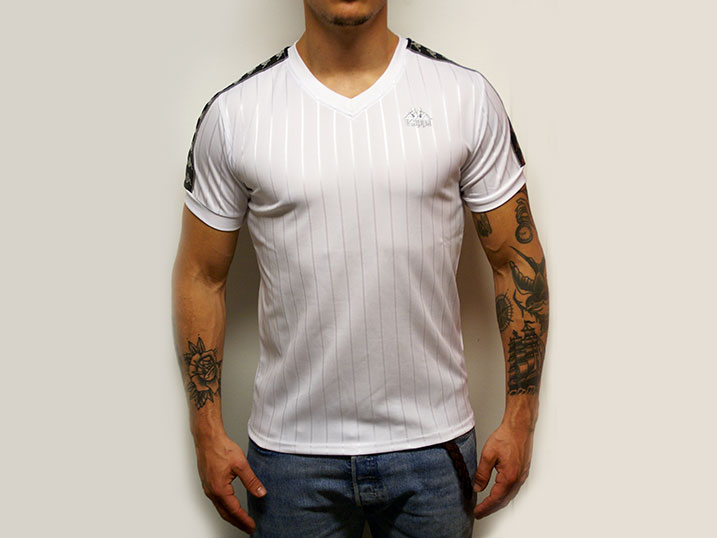 Kappa Shirt Bandana Celtic White