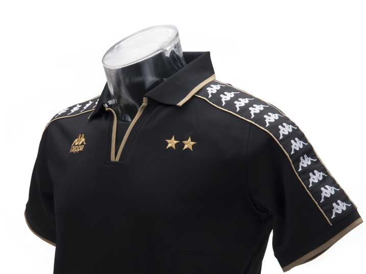 Kappa Polo Paloma Black-Gold